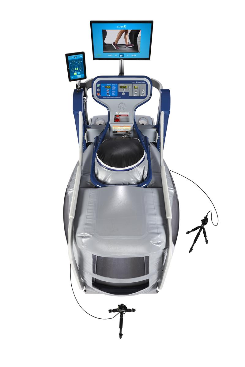 AlterG Treadmill VIA Birdseye